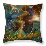 I Just Want To Celebrate...another Day Of Living Throw Pillow