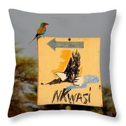 I Know It's Around Here Somewhere Throw Pillow
