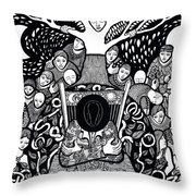 I Know Not What Nature Is I Sing It Throw Pillow
