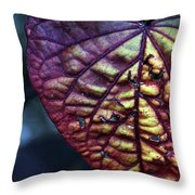 I Leaf You Throw Pillow