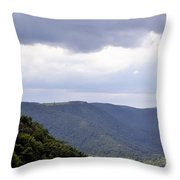 I Look To The Hills Throw Pillow