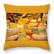 I Love Cheese Throw Pillow