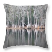 I Love Cypress Throw Pillow