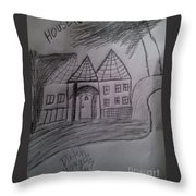 I Love My , Throw Pillow