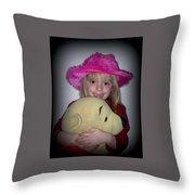 I Love Pooh Bear Throw Pillow