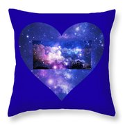 I Love The Night Sky Throw Pillow