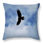 I Love The View From Up Here Throw Pillow