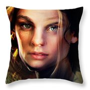 I Love You Camille Throw Pillow