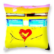 I Love You ... French Mailbox Style  Throw Pillow