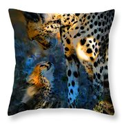 I Love You Mama Throw Pillow