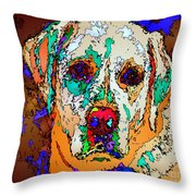 I Love You. Pet Series Throw Pillow