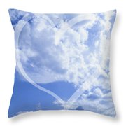 I Love You To The Clouds And Back Throw Pillow