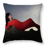 I May Feel Different From This Throw Pillow