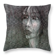 I Miss For You  Throw Pillow