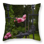 I Never Promised You A Rose Garden Throw Pillow