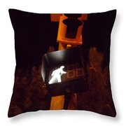 I Now Climb The Hill Throw Pillow by Guy Ricketts