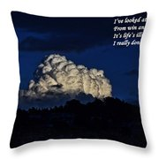 I Really Don't Know Life At All Throw Pillow