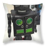 I Robot Throw Pillow