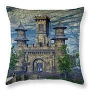 I See A Big Fish - Go Get Our Fishing Poles Throw Pillow