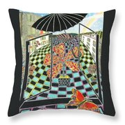 I See City Throw Pillow