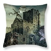 I See Dragons Throw Pillow