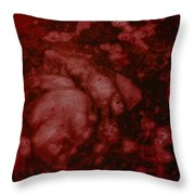 I See Red Throw Pillow