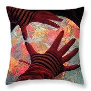 I See Travel In Your Future Throw Pillow