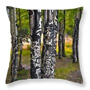 I See You - The Aspens Throw Pillow