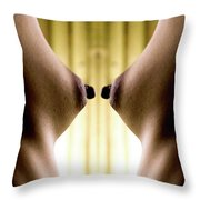 I See Your Point Throw Pillow