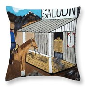 I Should Quit Drinking. Throw Pillow
