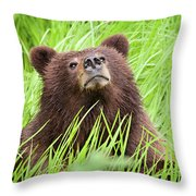 I Smell Something Good To Eat Throw Pillow