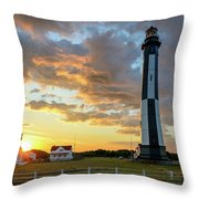 I Stand Relieved Throw Pillow