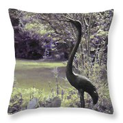 I Stand Tall Throw Pillow