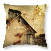 I Still See You In My Dreams Throw Pillow