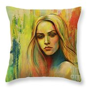 I Think About You_x Throw Pillow