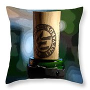 I Think I'm Half Corked Throw Pillow