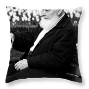I Think Of Then Throw Pillow