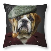 I Totally Agree Throw Pillow by Kathy Tarochione