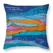 I Trusted - Psalm 116-10 Throw Pillow