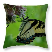 I Want To Be A Butterfly Throw Pillow