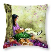 I Want To Lay You Down In A Bed Of Roses Throw Pillow