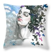 I Wanted That The Problems Had Wings Throw Pillow
