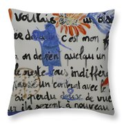 I Wanted To Be. Throw Pillow