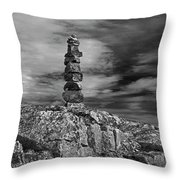 I Was Here.. Throw Pillow