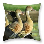 I Was Just Saying Throw Pillow