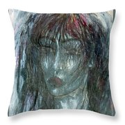 I Wept Out Eyes  Throw Pillow