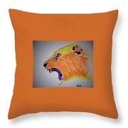 I Will Eat You Throw Pillow
