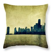 I Will Find You Down The Road Where We Met That Night Throw Pillow