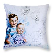 I Will Take Care Of You Throw Pillow