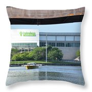 I Wireless Center Throw Pillow